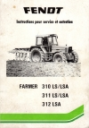 notice d'instructions type : Farmer 310 LS/LSA - 311 LS/LSA - 312 LSA