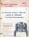 bulletin technique de vente type : Farmall        F235